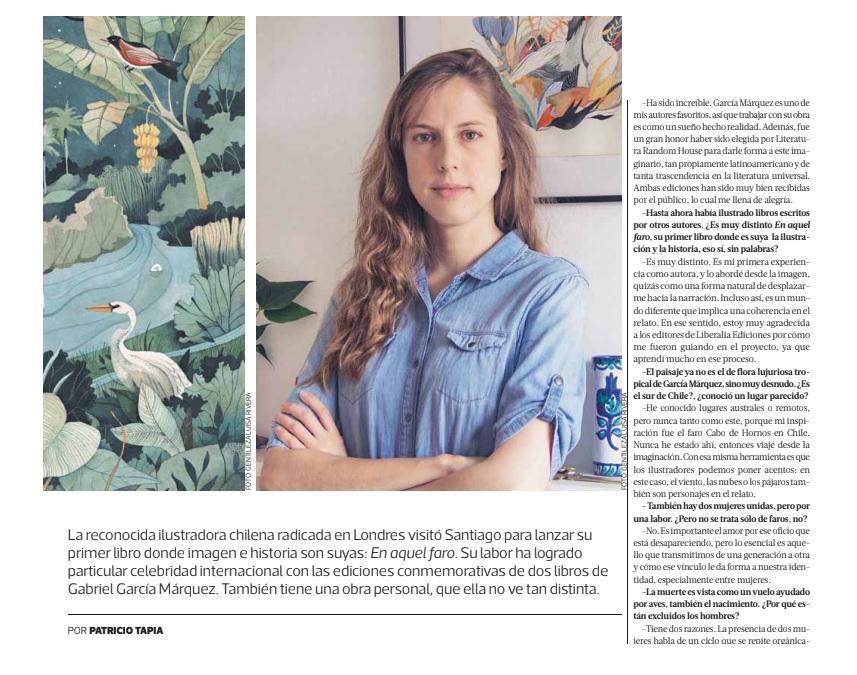 Entrevista a Luisa Rivera