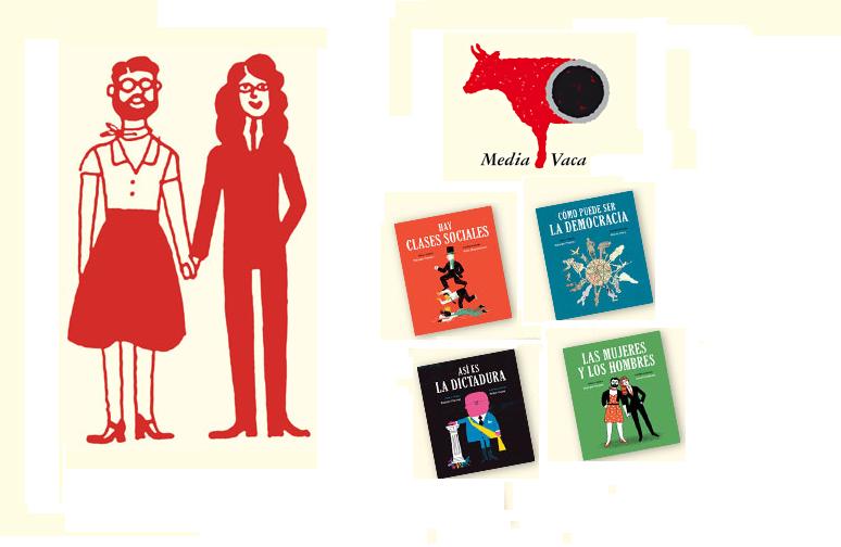 Colección Libros para mañana. Media Vaca Ediciones