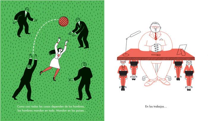 Las mujeres y los hombres. Media Vaca Ediciones