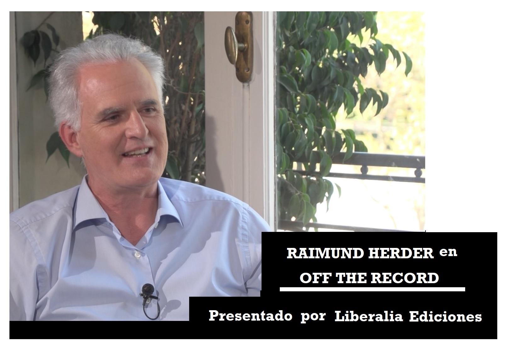 Raimund Herder en OFF THE RECORD 2019